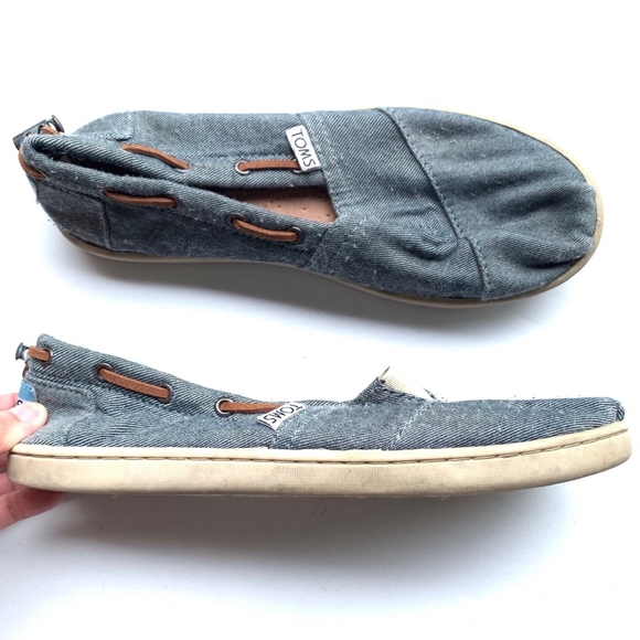 Toms Other - TOMS Slip-on Adjustable Strap Loafers Shoes